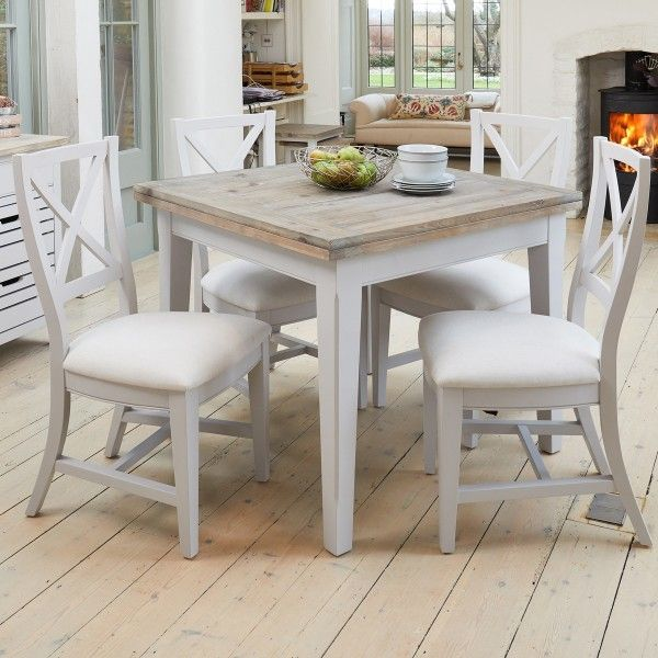 Https Www Wooden Furniture Store Co Uk Signature Grey Extending Dining Table And Four Chairs Square Dining Tables Extendable Dining Table Dining Table Chairs