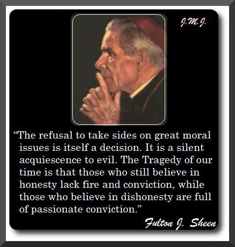 Bishop Sheen Quotes: 63 Best Images About Fulton Sheen On Pinterest
