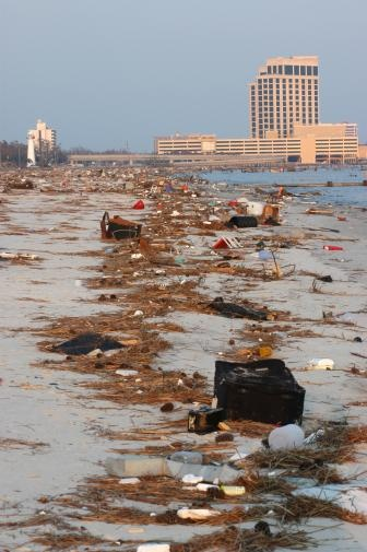 Image detail for -Biloxi, MS (Mississippi) - Biloxi beach near casinos, before Katrina cleanup
