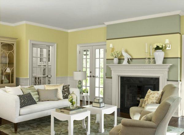 Die besten 25+ Pastellgelb Ideen auf Pinterest Ästhetische - farbgestaltung wohnzimmer grun