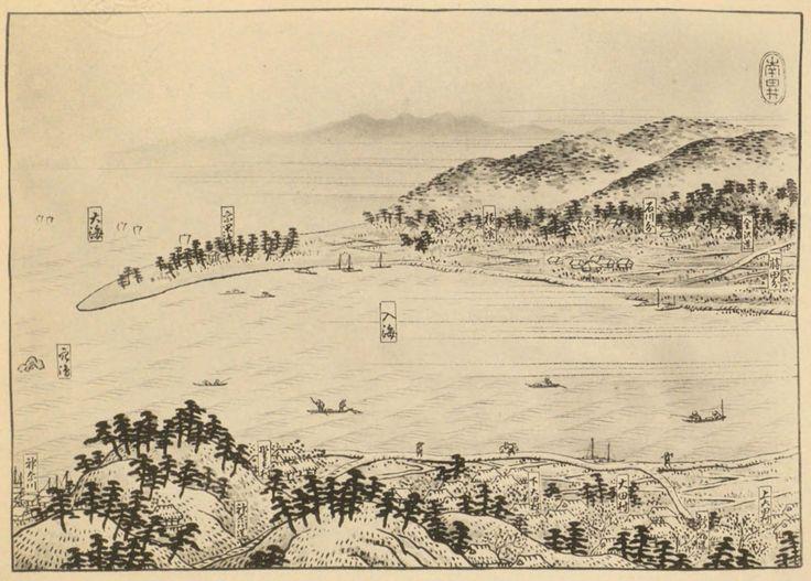 かつては内陸奥深くまで入り込む入海であった大岡川、中村川、根岸線に囲まれた釣鐘状の範囲を埋立てつくられた「吉田新田」。吉田勘兵衛による大事業が完成したのは寛文7年(1667)のことで今年で350周年を迎えている。 戦乱の世が終わり徳川幕府が開かれ社会が安定するようになると、人口が増加し食糧増産の必要に迫られ、新田開発が盛んに行われるようになった。この江戸時代初期のいわば新田開発ブームに乗り、横浜の地で開墾を計画した人物こそが、摂津国能勢郡(大阪府)に生まれ、江戸に出て木材石材商を営んでいた吉田勘兵衛である。後に吉田新田となる土地は、内陸部まで深く入り込む入海で、湾の入口では洲干島と呼ばれた砂嘴状の半島が天然の防波堤のように横に延び、入海の最奥部は大岡川の河口で、川の流出する土砂が河口に積もって埋立てしやすい特徴をもっていた。吉田勘兵衛はこうした横浜の入海の特徴に目をつけ、江戸での商売で稼いだ材を投下し一大事業に乗り出した。 幕府からの許可を受け工事は明暦2年(1656)…