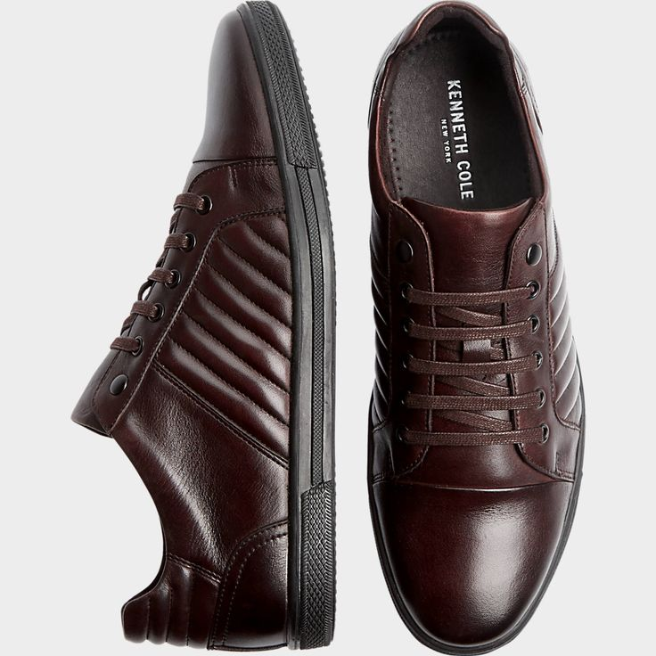 Buy a Kenneth Cole Snap-Down Brown Leather Lace-Up Shoes and other Dress Shoes at Men's Wearhouse. Browse the latest styles, brands and selection in men's clothing.