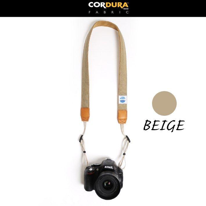 MOUTH カメラバッグ 一眼レフ、ミラーレス用のデリシャスカメラストラップ 40mm