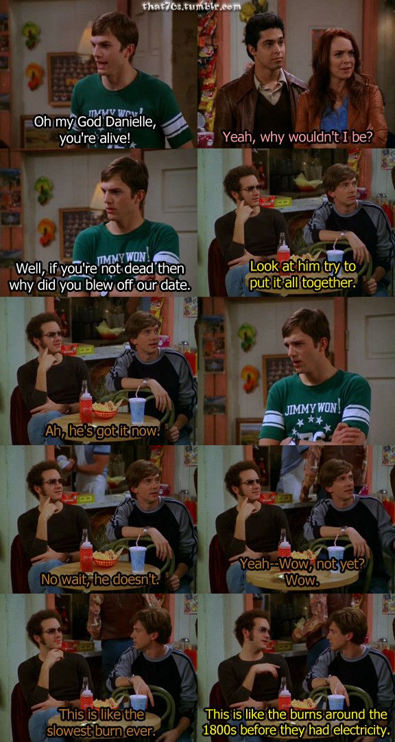 Ahhh...that 70's show!!