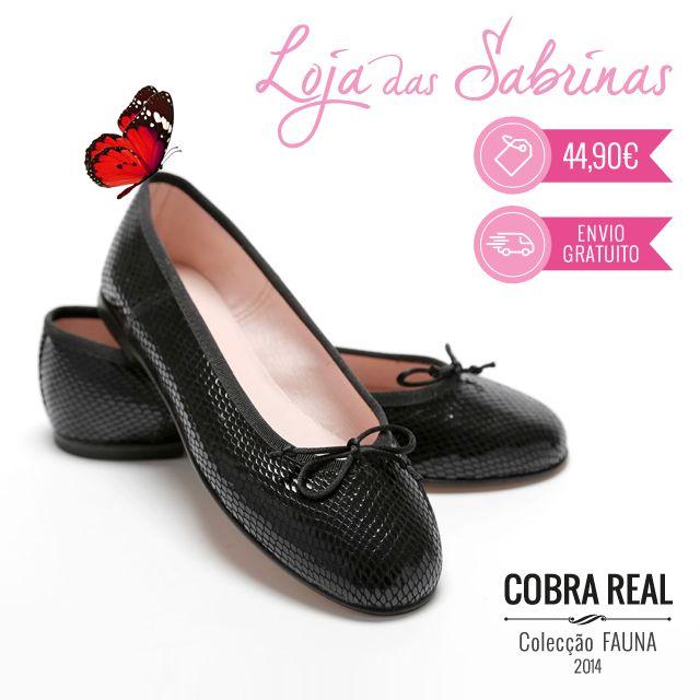 Clássicas e arrojadas, as nossas Sabrinas Cobra Real estão à tua espera para brilhar e arrasar nesta estação. Consegues resistir?  http://www.lojadassabrinas.com/product/cobra-real