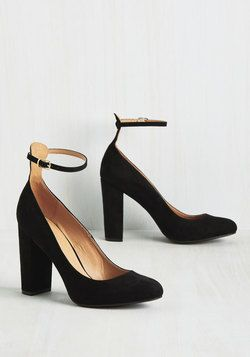 Block Heels - All About That Boss Heel