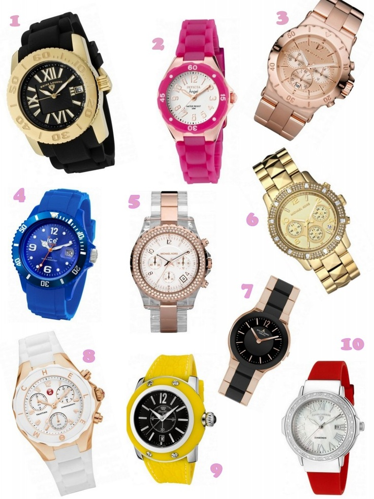 Watches: Accessories Jewelry, Fashion Frosting, Watches Luv, Fashion Fractions, Tick Tock