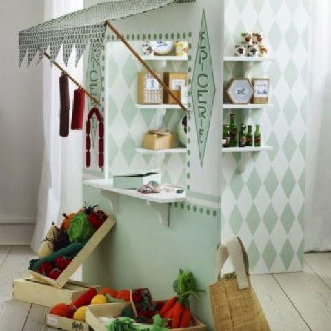 diy de petites marchandes pour les filles enfants pinterest playrooms and play market. Black Bedroom Furniture Sets. Home Design Ideas