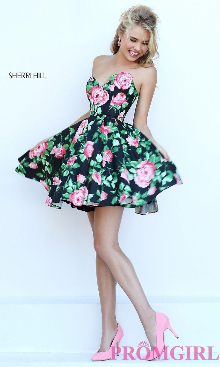 94 best Sherri Hill 3 images on Pinterest | Cocktailkleider, Kurze ...