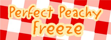 Perfect Peachy Freeze