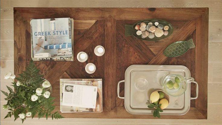 Descubre el método de los cuadrantes y aprende a decorar una mesa de centro como lo haría una estilista profesional