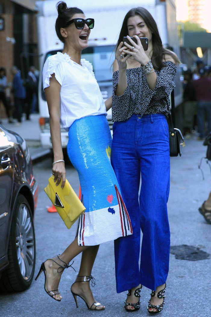 Pantalon azul simil jean