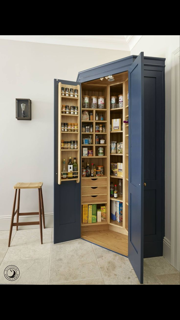 Custom built kitchen pantry cabinet from Pinter44g.