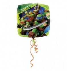 Ballon hélium Tortues Ninja Ø 45 cm