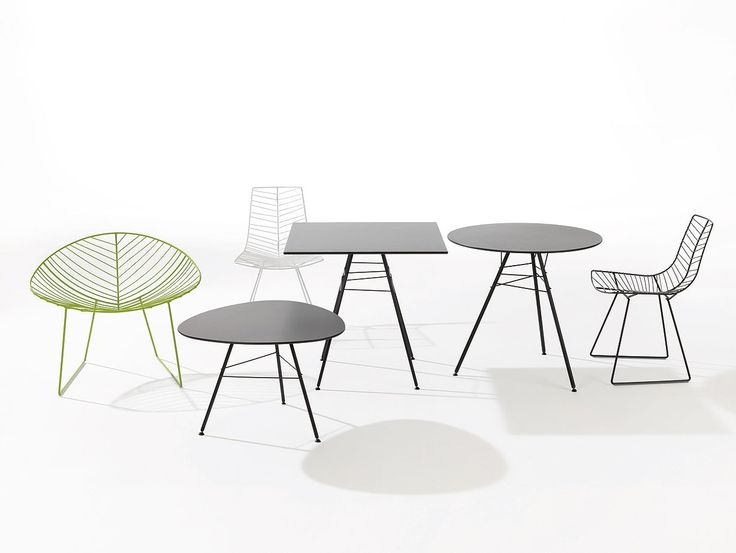 Leaf Table By Lievore, Altherr, Molina For Arper.
