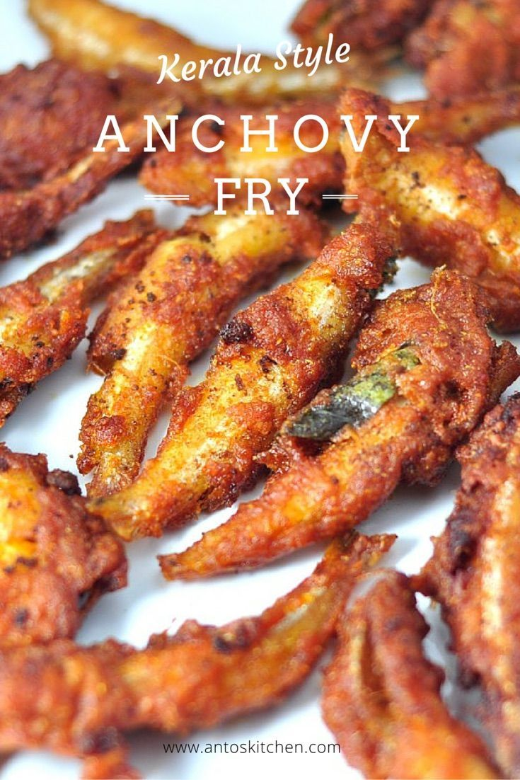anchovy fry kerala style