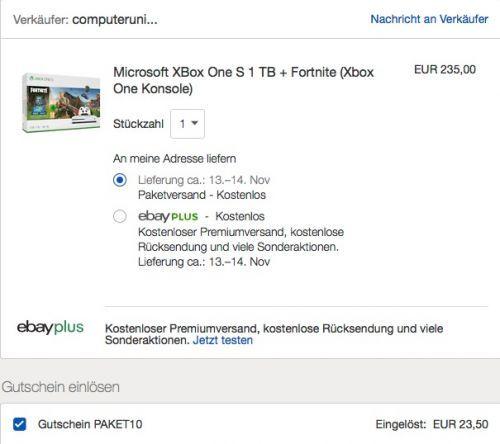 Microsoft Xbox One S 1 Tb Fortnite Xbox One Konsole Games Konsole Elektroniken Und Ebay