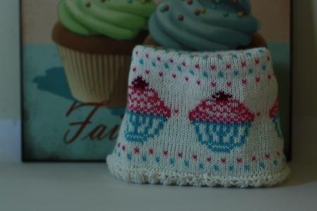 Homemade headband, with my pattern