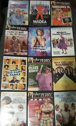 LOT of Tyler Perry/ Madea Movies & Plays  just listed