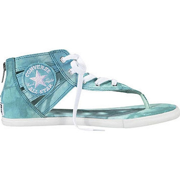 Converse Gladiator Thong Sandal Turquoise Women's 7.5 M -- Check this awesome image  : Gladiator sandals