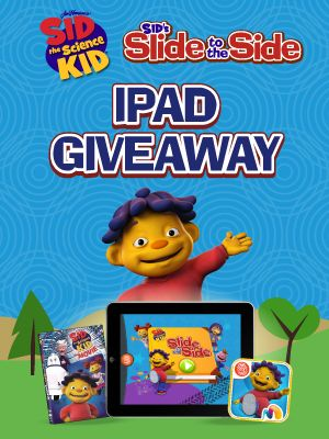 Check out Sid the Science Kid: Slide to the Side, the newest coolest science learning game for kids 4 . And be sure to enter in Fingerprints Sid the Science Kid giveaway for a chance to win an iPad, Sids Slide to the Side app, and a Sid DVD!