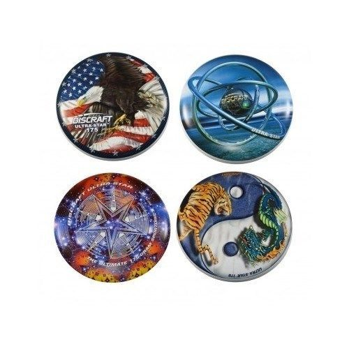 frisbees Super Color Discraft 175 gram Ultra-Star Ultimate Bundle outdoor fun #Discraft