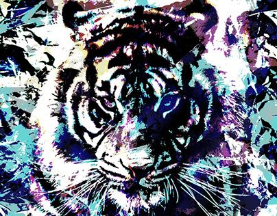 "Check out new work on my @Behance portfolio: ""Tiger"" http://on.be.net/1LCLRzP"