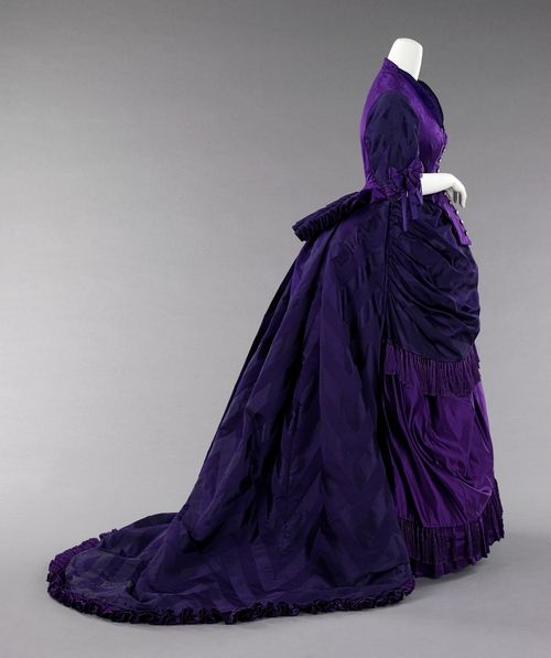 425 Best Images About Real Historical Gowns: 1870-1879 On