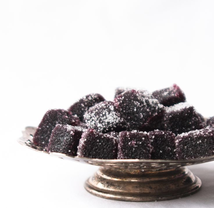 Blackcurrant Fruit Pastilles by Beef and Brioche