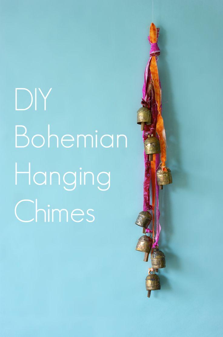 Anthropologie Hack  - DIY Bohemian Hanging Chimes