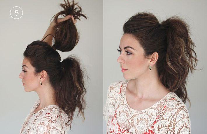 cool 50 Идей, как сделать красивый хвост на длинные волосы — Новые идеи привычной прически (фото)