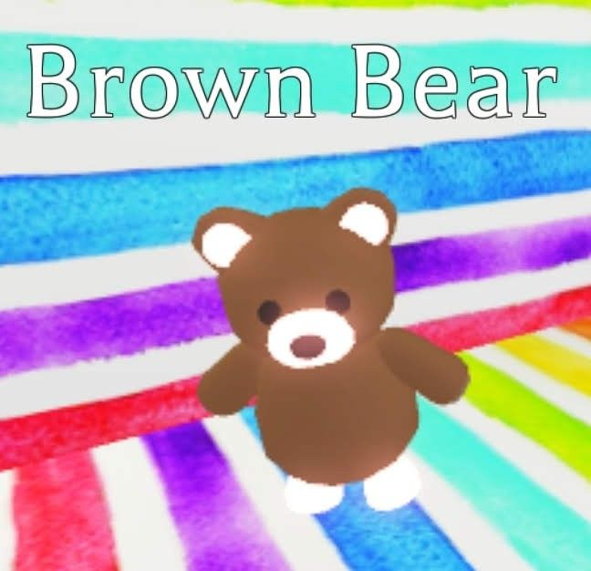 Neon Brown Bear In 2020 Pet Adoption Certificate Pets Drawing Pet Adoption