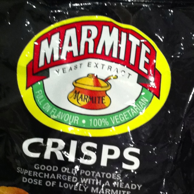 Mmmmm marmite crisps