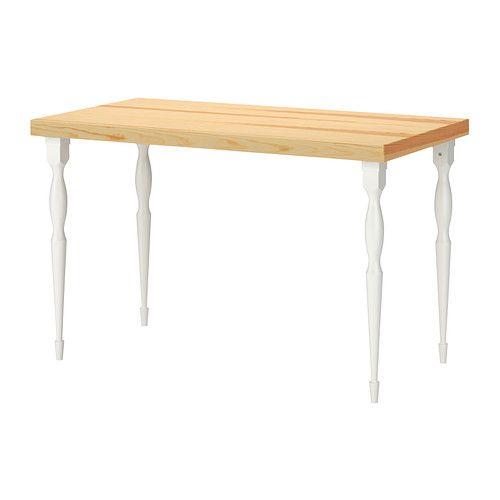 TORNLIDEN / NIPEN Tavolo - impiallacciatura di pino/bianco - IKEA