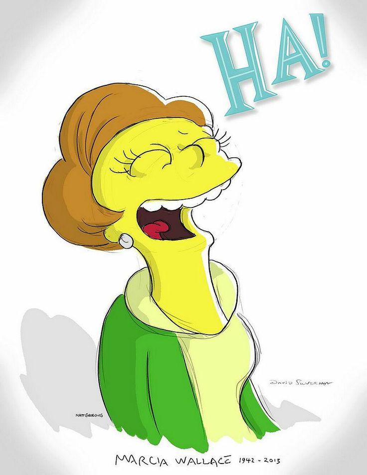 R.I.P. Edna Krabappel