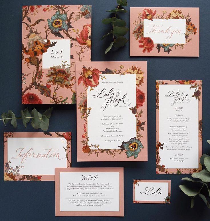 deer hunter wedding invitations%0A Lamplighter London x House of Hackney Wedding Invitations