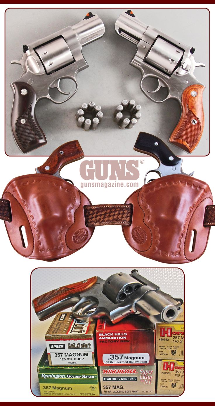 Is 8 Enough?   By John Taffin   6 + 2: Ruger's .357 Redhawk — Portable Power/Magnum Punch!   Man has long been faced with difficult decisions. Is it hereditary or environment? Form or function? Ginger or Mary Ann? One we can mostly answer when it comes to firearms is which is most important: form or function?   © GUNS Magazine 2018