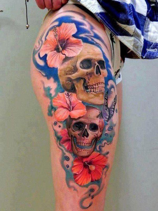 Tatouages de fleurs d 39 hibiscus tatouage d 39 hibiscus and fleurs d 39 hibiscus on pinterest - Tatouage fleur d hibiscus ...