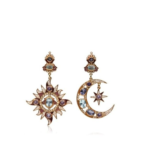 diego percossi papi moon sun earrings 1 175 liked on