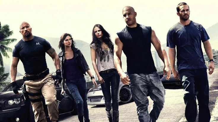 Fast And Furious 6 Love this movie. Was anybody else in love with the fact that when they were introducing the actors in the beginning they played We Own It by Wiz Khalifa and 2 Chainz and then showed scenes from the previous movies.