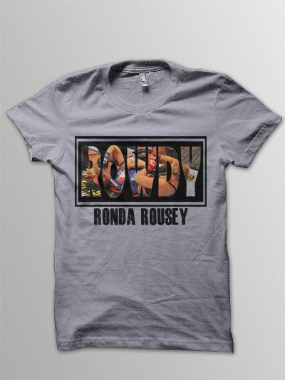 ronda rousey shirt | Ronda Rousey T-Shirt designs | emotioneer