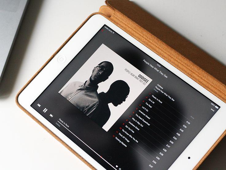 iPad Music Player [Landscape] by Michael Dolejš