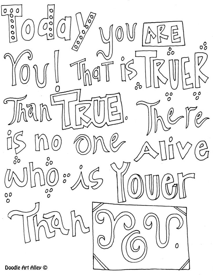 printable quote you can color - Friends Quotes Coloring Pages