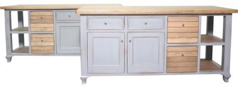 Toulouse Kitchen Island. A Block and Chisel Product.