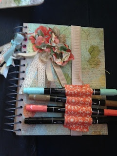 This and That journal/smashbook!  I love everything about this bundle! You can add all the little wonderful things about your everyday life, imperfect as it is, messy and wonderful!! So much fun!