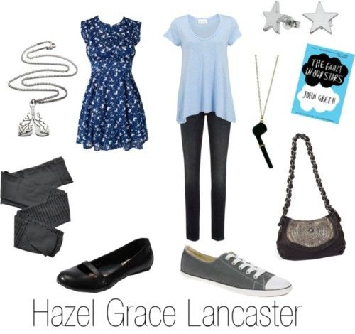 style inspired by Hazel Grace Lancaster from the Fault in our Stars by John Green