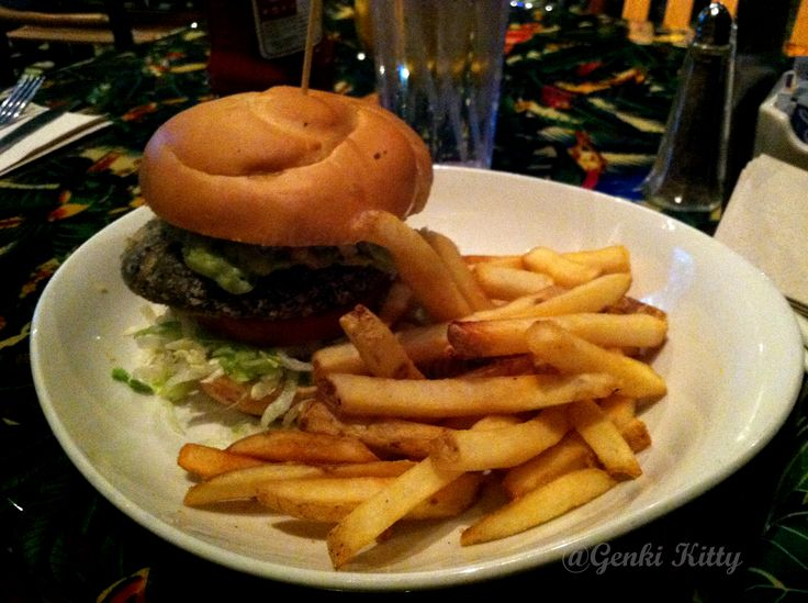 Rainforest Cafe Vegan Burger