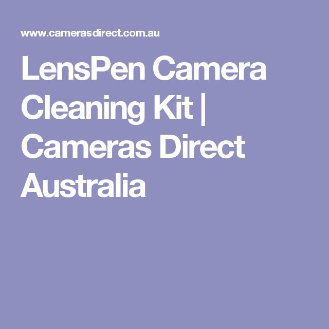 LensPen Camera Cleaning Kit | Cameras Direct Australia