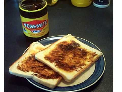 how to eat vegemite youtube