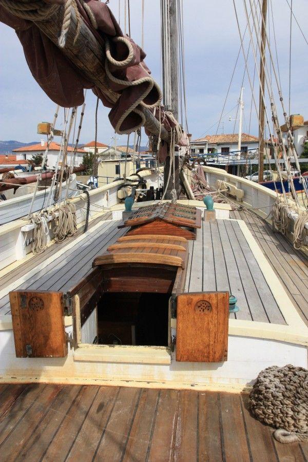 Danish gaff ketch seamanship pinterest boating for Fishing gaffs for sale